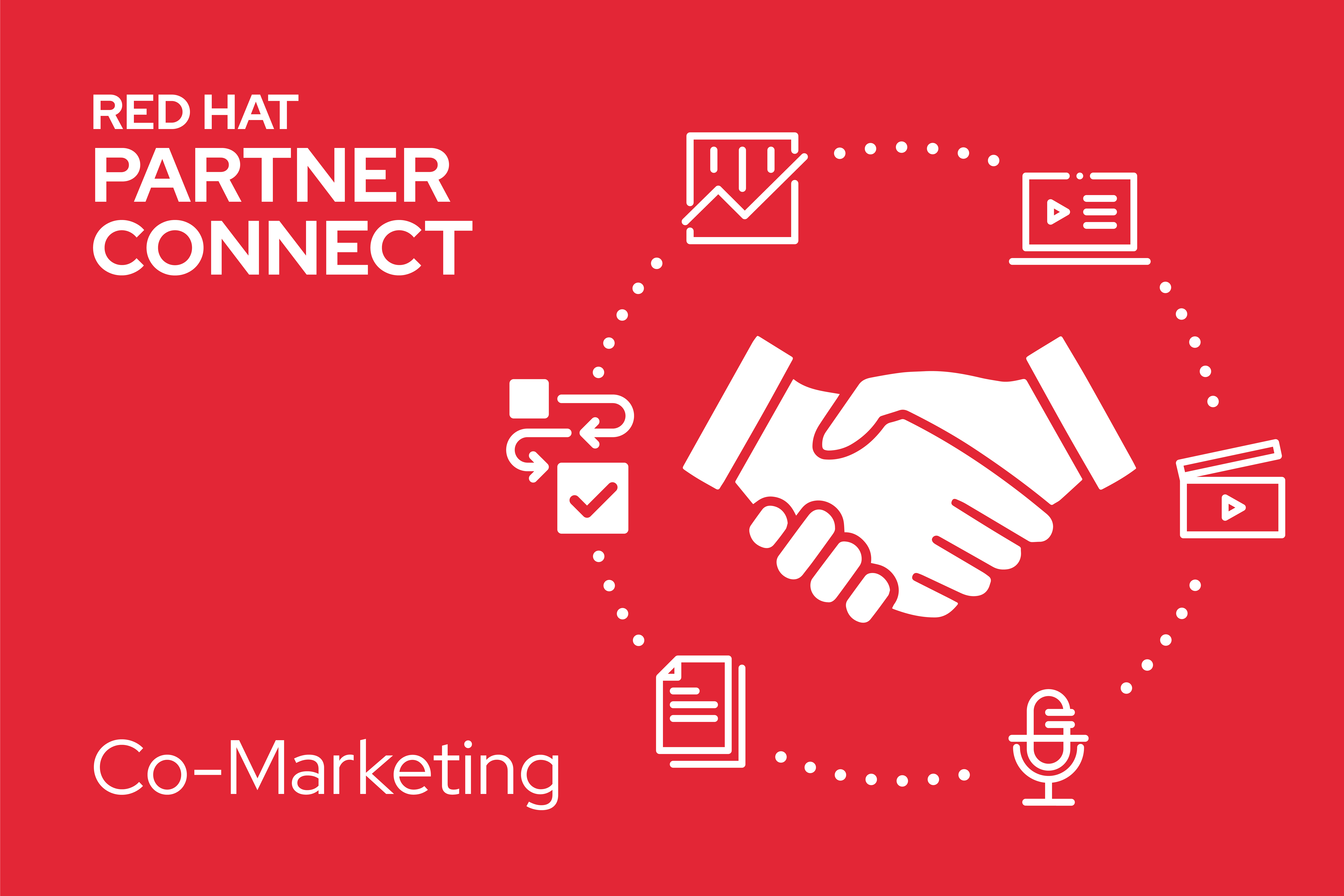 Co-marketing with Red Hat